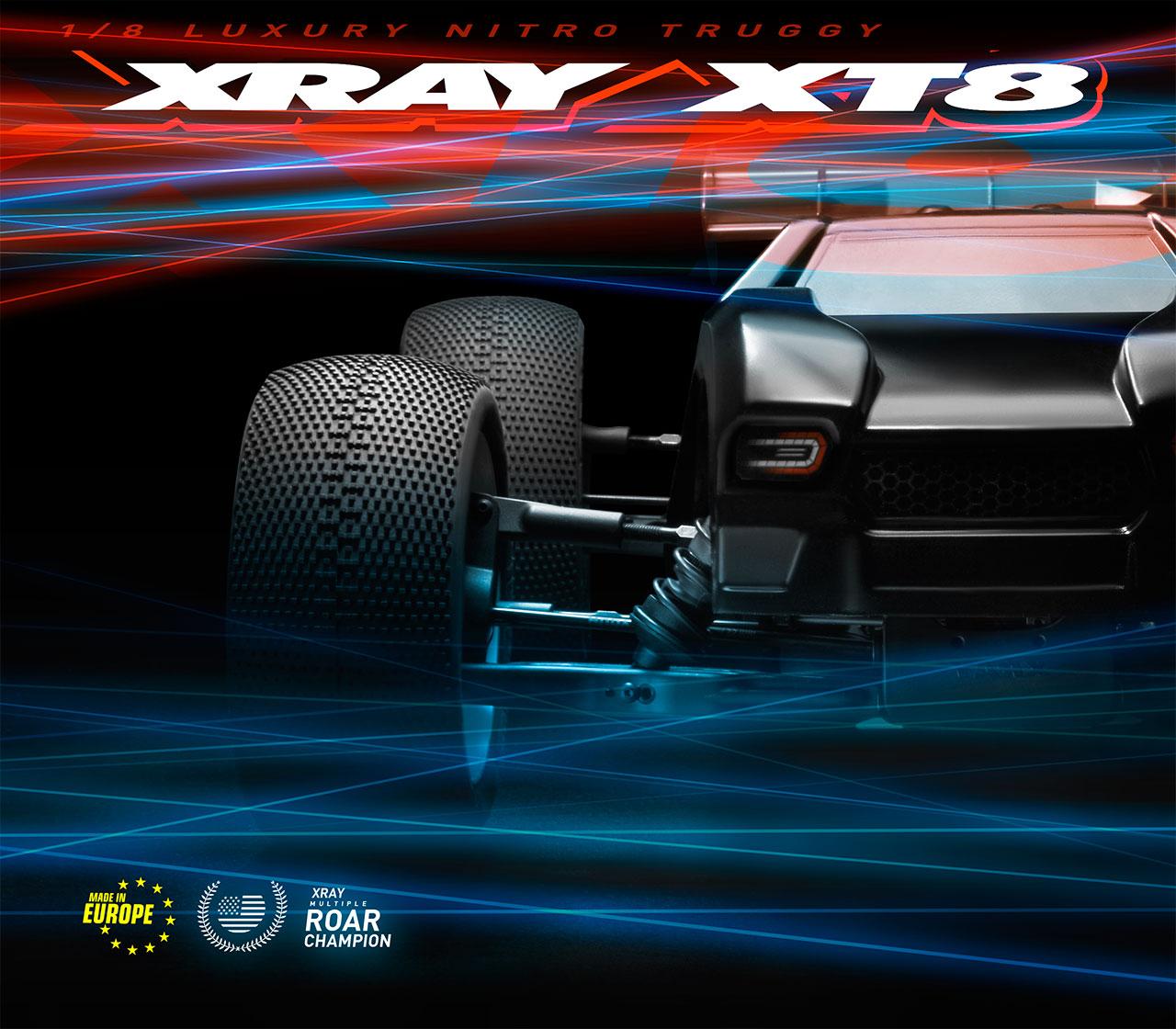 Features | XRAY XT8 2
