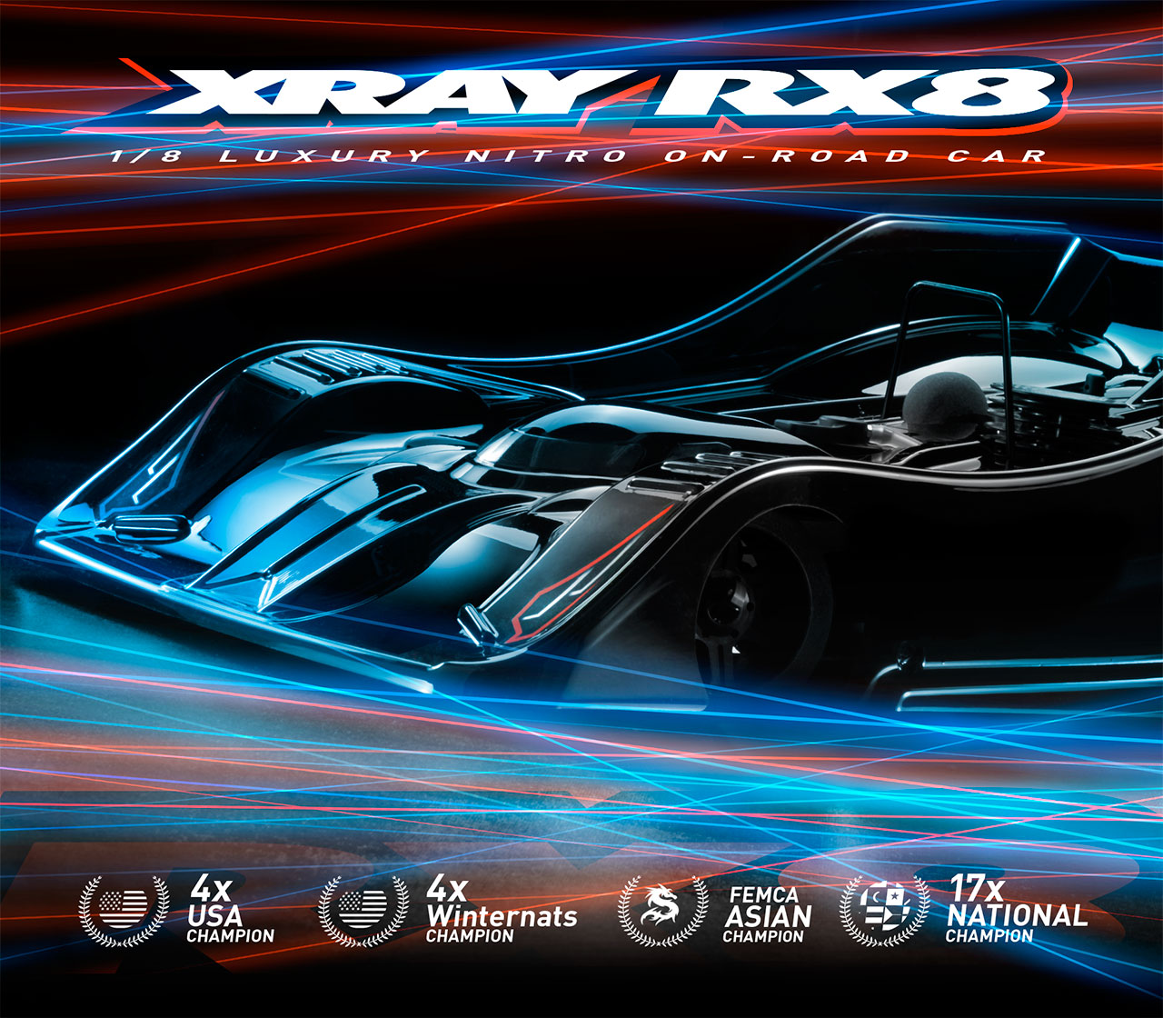 Features   XRAY RX8 2