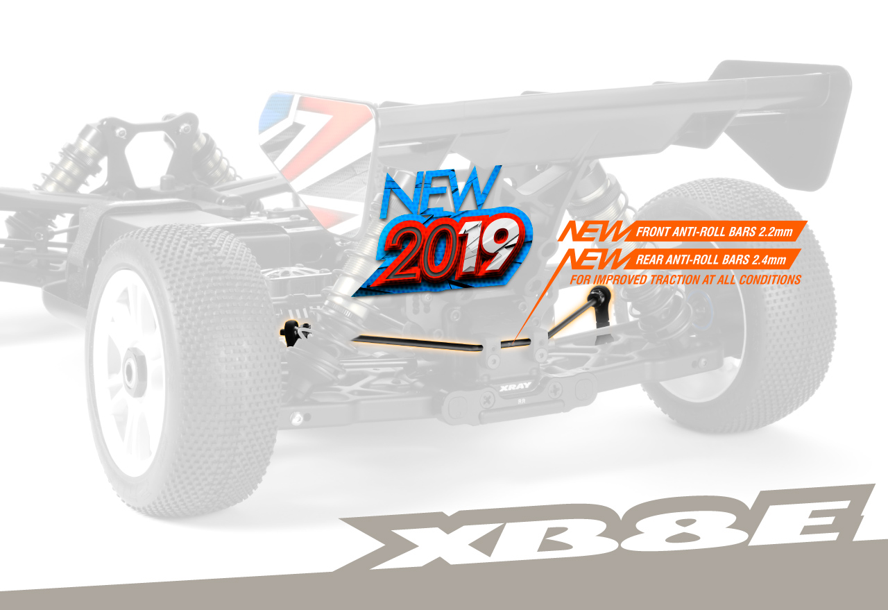 Features | XRAY XB8E'19